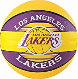 Spalding NBA Team L.A. Lakers Ballon de basket Mixte Adulte, Multicolore, 7
