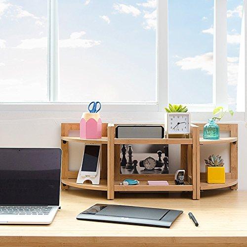 CQ Schreibtisch Lagerregal Desktop Regal Einfaches Schreibtisch Regal Kind Mini Bücherregal (Size : Length74.5)