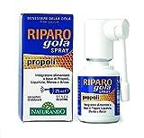Naturando Riparo Gola Spray 25 ML Rapido Sollievo per Gola e Faringe