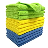 Polyte Microfibre Cleaning Cloth (30x40 cm, 12 Pack)