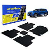 Goodyear Custom Fit Car Floor Liners for Hyundai Santa...