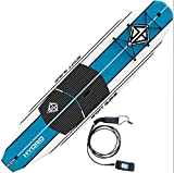 Scott Burke 10'6' Hydro Stand-Up Paddleboard Package, White/Blue