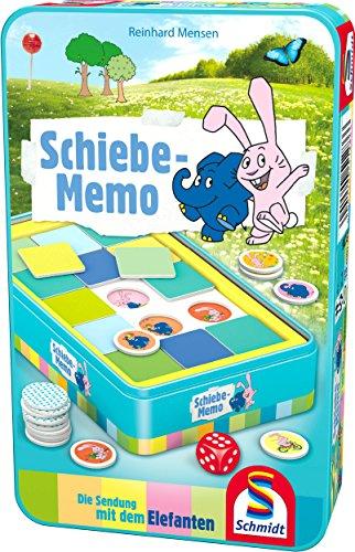 Schmidt Spiele Die Sendung mit dem Elefanten, Schiebe-Memo