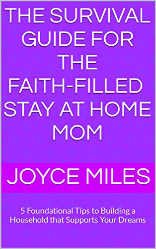 the survival guide for the faith-filled stay at home mom: 5 Foundational Tips to Building a Household that Supports Your Dreams