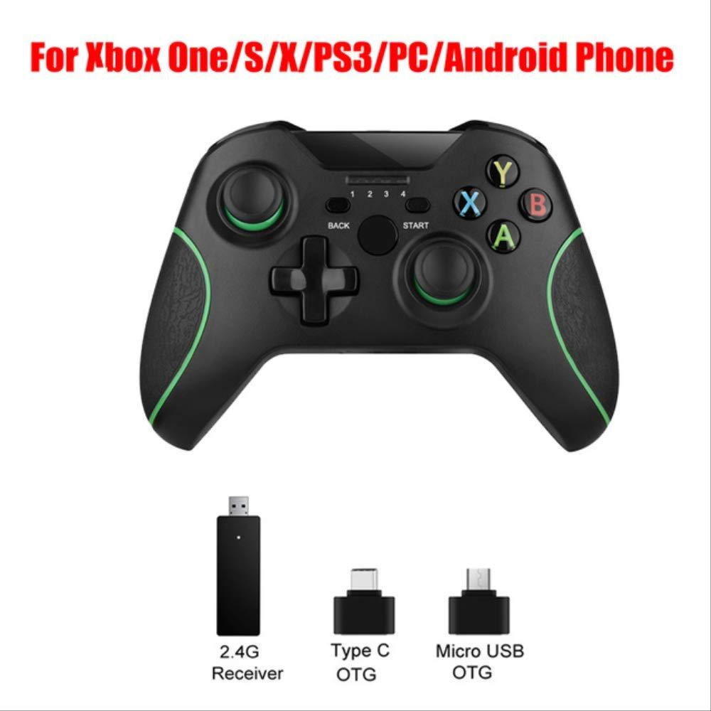 Amazon.es: SMEI Bluetooth Mando Inalámbrico Joystick Juego Gamepad Joypad para Microsoft Xbox One Console Controle sin Clip de teléfono