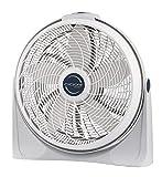 Lasko 3520 20' Cyclone Pivoting Floor Fan,White 20