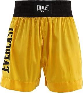 Shorts Everlast Muay Thai Assinatur - Amarelo-Preto