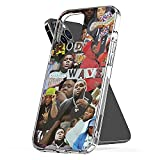 Phone Cover Case Compatible with iPhone Rod 7 Wave Pro Max Collage Plus 6 8 X Xs Xr 11 12 Se 2020 Mini Scratch 13 Pro Max Samsung S21