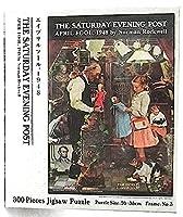 ノーマン・ロックウェル・ジグソーバズル 300ピース 「エイプリルフール,1948」新品