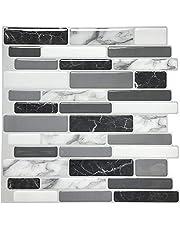 """Art3d Peel and Stick keuken backsplash muur tegel, wit Metro backsplash tegel 12""""X 12"""""""