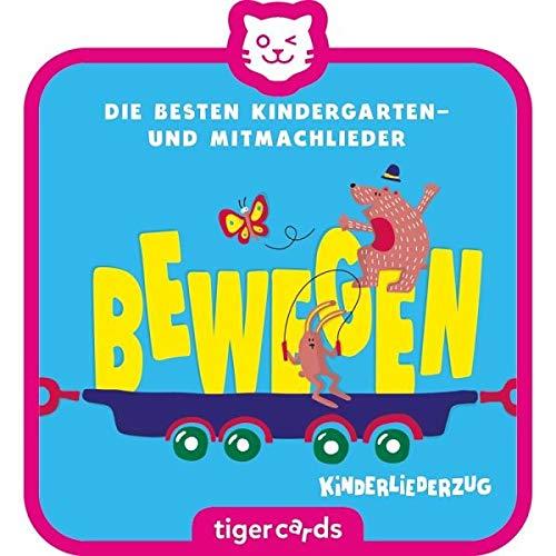 Tigerbox- Tigercard – Tren de Canciones para niños – Sigue 2: Die besten Kindergarten- y Mitmachlieder – Mueve (Tiger Media Deutschland GmbH 4158)