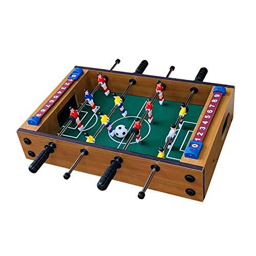 Kfmysm Juguete de los niños de la máquina del fútbol del juego del rompecabezas del fútbol del escritorio de los niños mini mesa de fútbol