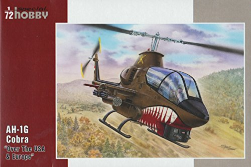 Unbekannt Special Hobby sh72278 – Modélisme Jeu de Ah 1G Cobra Over The USA and Europe