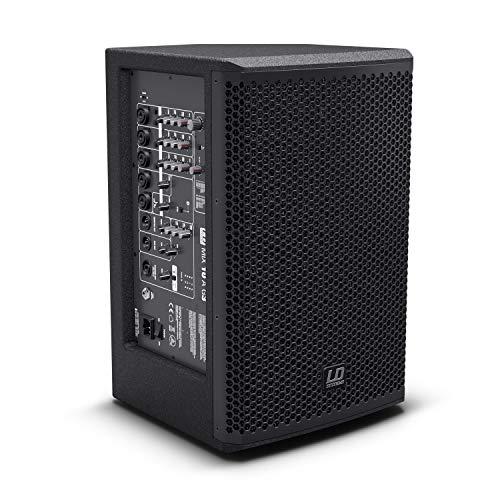 LD Systems MIX 10 A G3 2-Weg Aktiv-Lautsprecher mit integriertem 7-Kanal-Mixer