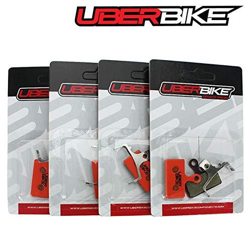 Uberbike Shimano XT M8100 M8000 M785 Kevlar - Pastillas de Freno (4...