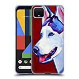 Head Case Designs Officiel DawgArt Sibérien Enroué Chiens Coque en Gel Doux Compatible avec Google Pixel 4 XL