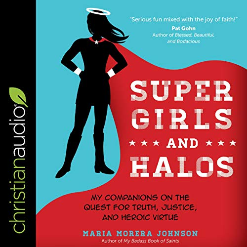 Super Girls and Halos audiobook cover art