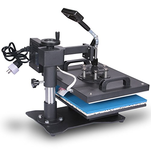 Lartuer Transferpresse Tassenpresse Textilpresse T Shirtpresse Heat Press Machine 8 in 1 Mulitifunktional Sublimation 360-Grad-Drehung (8IN1) - 5