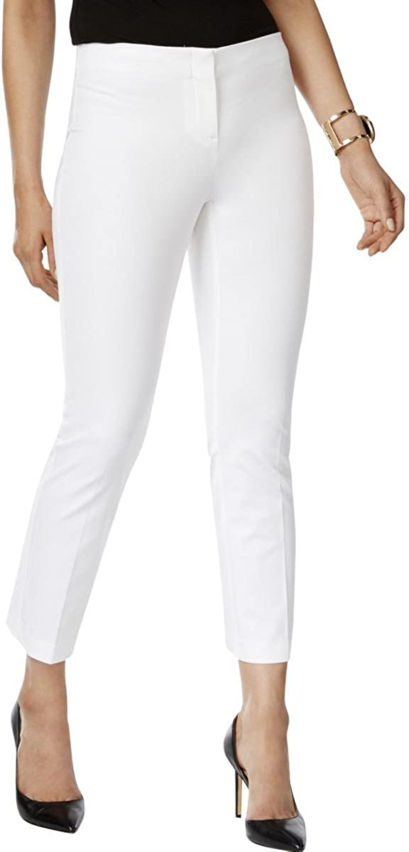 Alfani Womens Colored Comfort Waist Capri Pants