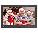 BSIMB 13.3 Inch Digital Picture Frame Digital Photo Frame 1920x1080(16:9) IPS Display Widescreen with Motion Sensor and Remote Control Support USB/SD Card Infrared M14