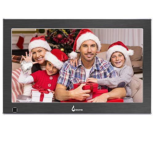 BSIMB 13.3 Inch Digital Picture Frame Digital Photo Frame 1920×1080(16:9) IPS Display Widescreen with Motion Sensor and Remote Control Support USB/SD Card Infrared M14