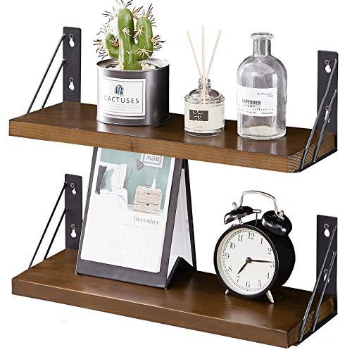 Pine Wood Wall Shelves
