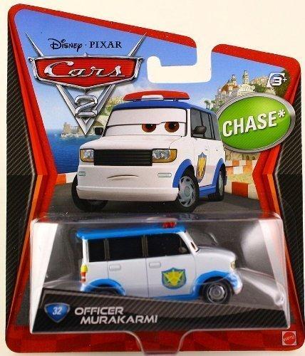 Disney Pixar Cars 2 OFFICER MURAKARMI Chase by Disney