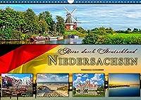 Reise durch Deutschland - Niedersachsen (Wandkalender 2022 DIN A3 quer): Niedersachsen, vielseitiges Bundesland im Norden Deutschlands. (Monatskalender, 14 Seiten )