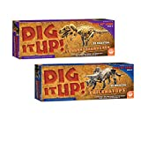 MindWare Dig It Up! T-Rex and Triceratops: Set of...