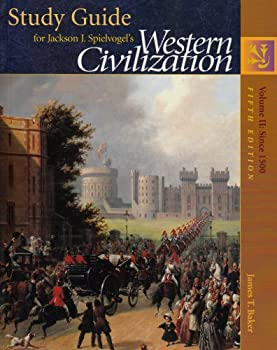 Paperback Study Guide for Western Civilization, Vol. 2: Since 1500 Book