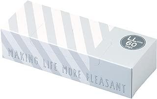 驚異の防臭袋 BOS (ボス) ストライプパッケージ /白色LLサイズ60枚入 大人用 おむつ ・ ペットシーツ ・ 生ゴミ などの処理に/災害時 臭い 対策に