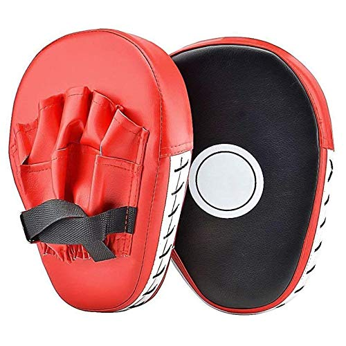XGWML PU-Leder-Schlagpolster, Handpolster, Kickpad, Kickboard, Taekwondo-Boxsack, Muay Thai, Karate, UFC MMA-Ziel Für Trainingshandschuhe