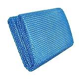 Doherty. Cubiertas solares de burbujas para piscina, película aislante redonda 3M para proteger del polvo, calentar el agua de la piscina y reducir la evaporación, corte libre, fácil de poner