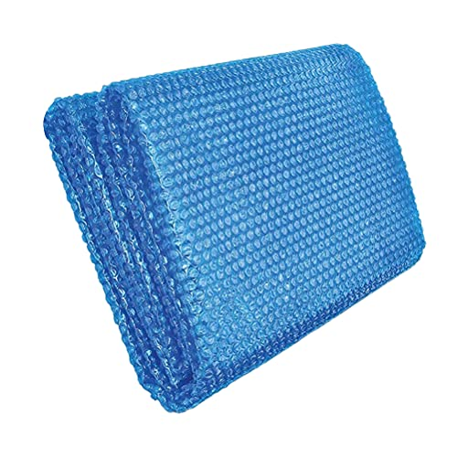 Doherty Cubiertas de burbujas solares para piscina, película de aislamiento de 3 m para calentar el agua de la piscina y reducir la evaporación, corte libre, fácil de configurar