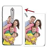 Mixroom - Coque personnalisée avec votre photo, coque en TPU silicone souple pour Nokia 6,1