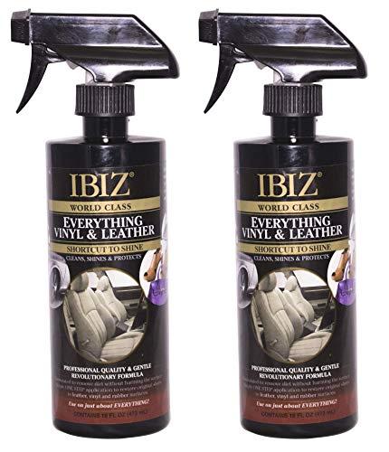 IBIZ Everything 64oz Car Leather Cleaner & Restorer (2 32oz Bottles)