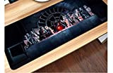 Starwars Large New Gaming Mouse Pad XXL Size (400mm800mm2mm) Extended Mouse Mat/Desk Pad with Non-Slip Rubber Base, Special-Textured Surface for Keyboard and Mouse (90x40 Star Wars)