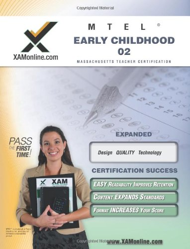 Mtel Early Childhood 02 Teacher Certification Test Prep Study Guide Xam Mttc