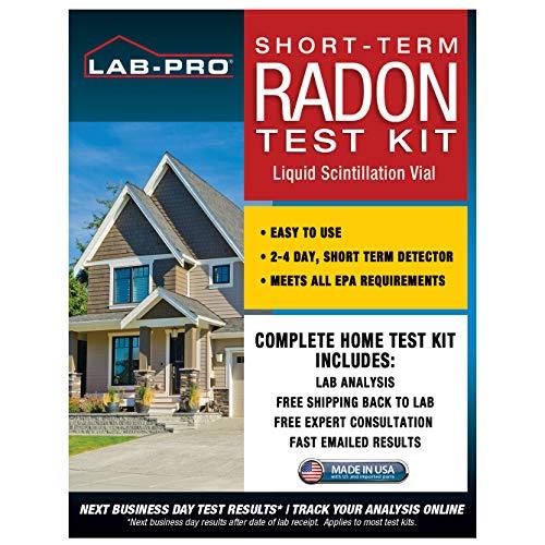 Radon Test Kit for Home -...