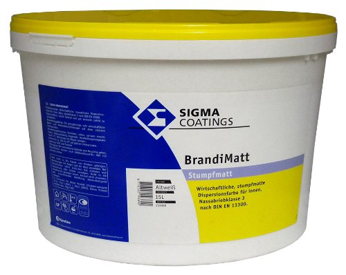 Sigma Brandimatt 12,5L (Altweiß)