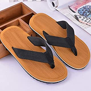 Summer Men Athletic Supportive Flip Flop Beach Thong Sandals Anti-slip Lifgtweight Casual Shoes (Color : 05, Shoe Size : 48)