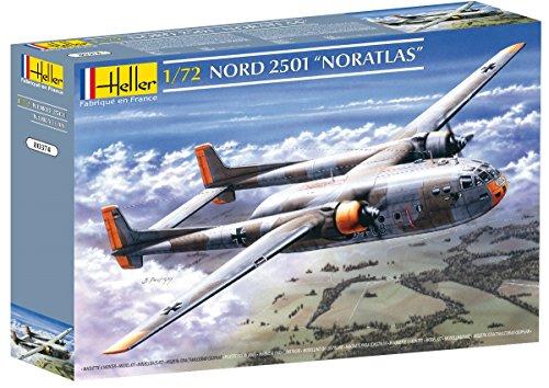 Heller 80374 - Modellino da Costruire, Aereo Nord 2501 'Noratlas, Scala 1:72 [Importato da Francia]