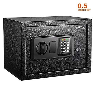 TACKLIFE Safe Digital Keypad Lock Box