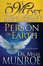 Most Important Person On Earth by MUNROE MYLES [Whitaker House,2007] (Hardcover)