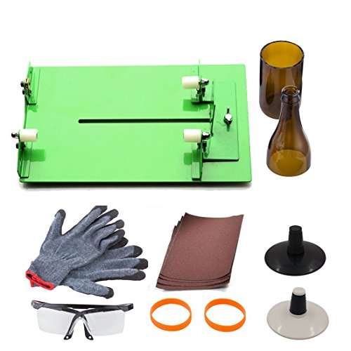 AceList Glass Wine Bottle Cutter Tool Long Beer Bottle DIY Cutting Machine Tool