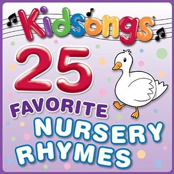 25 Favorite Nursery Rhymes
