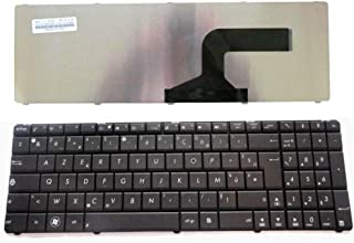 Teclado Original para ASUS N53 N53JN P52 P52JC P52F K55 X55 X75A 04GNZX1KIT00-2 0KNB0-6212IT00 04GNV32KIT01 UP PARTS UP-KBU007N