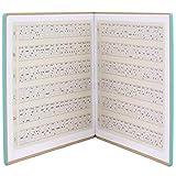 Accesorios para instrumentos musicales Libro de acordes de ukelele duradero para la escuela para principiantes de ukelele