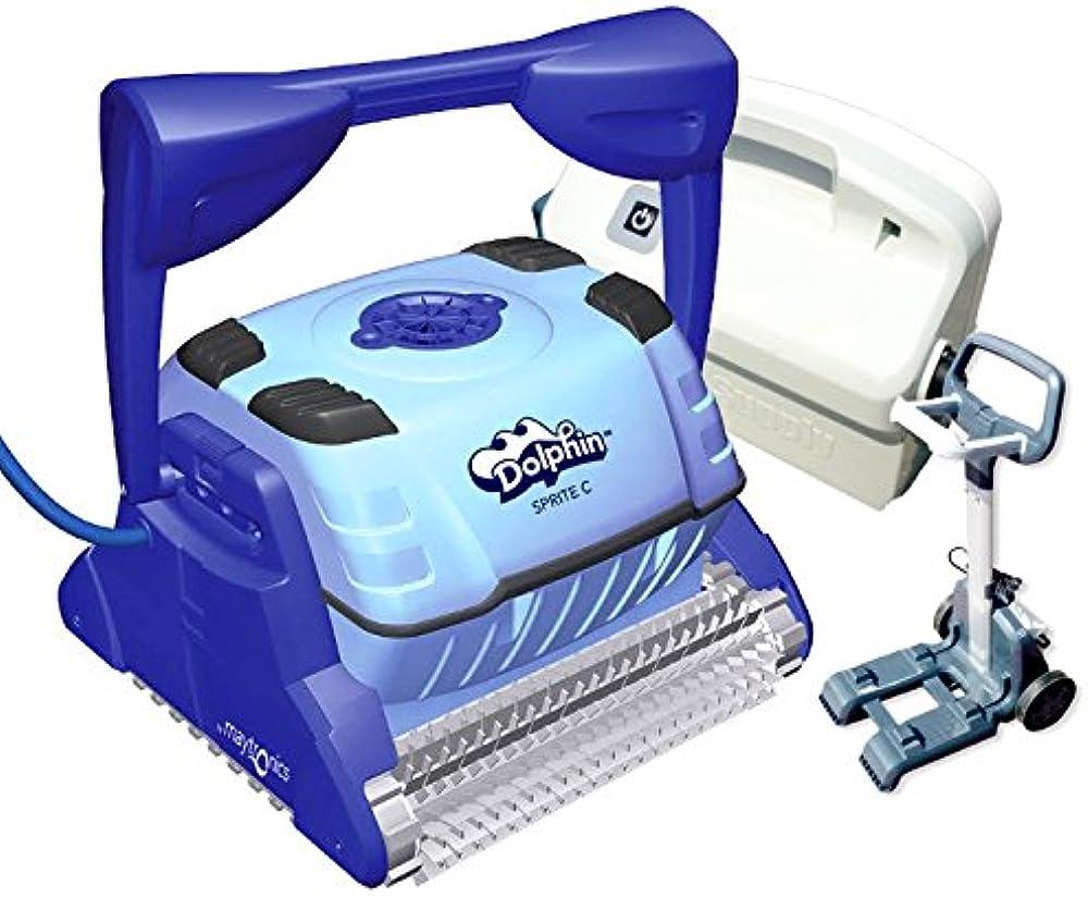 Dolphin sprite c è il nuovo pulitore maytronics per piscine,pulisce pareti, fondo e linea battente