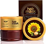 Glamorous Hub WOW Skin Science mascarilla capilar con biolípidos de girasol y aceite de argán para cabello seco y dañado 200 ml (el embalaje puede variar)